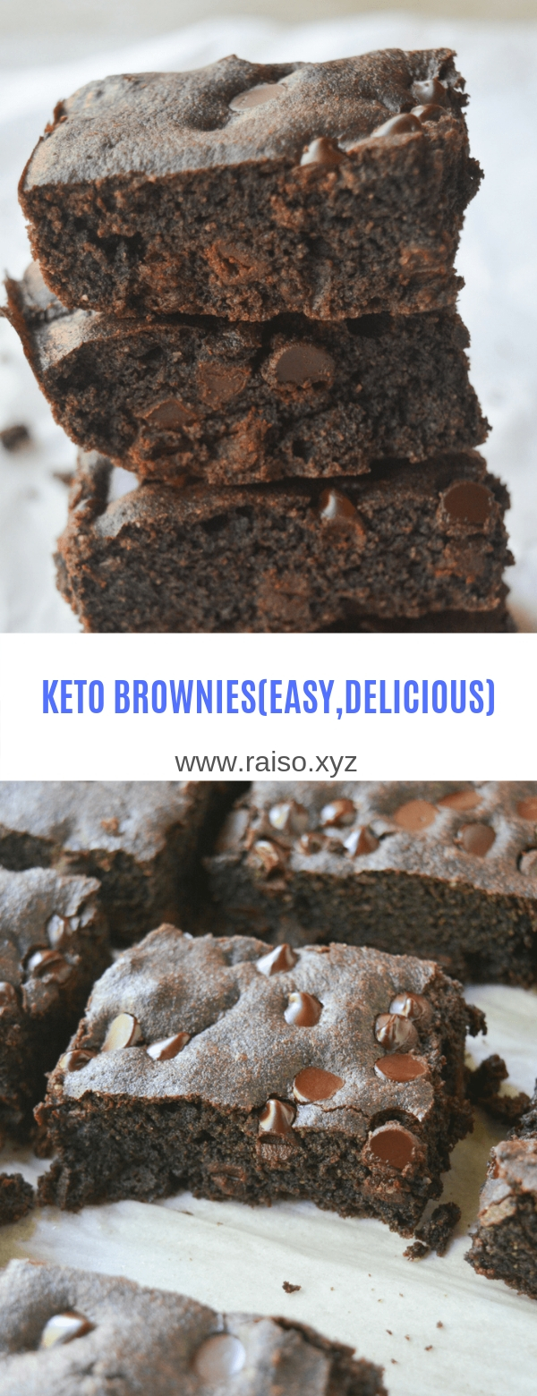 KETO BROWNIES (EASY,DELICIOUS)