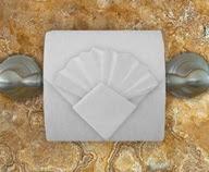 """Оригами """"Плиссе"""" из туалетной бумаги"""