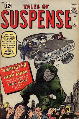 Tales of Suspense #31 the monster in the iron mask