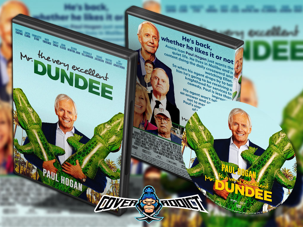 The Very Excellent Mr Dundee 2020 Dvd Cover Cover Addict Free Dvd Bluray Covers And Movie Posters
