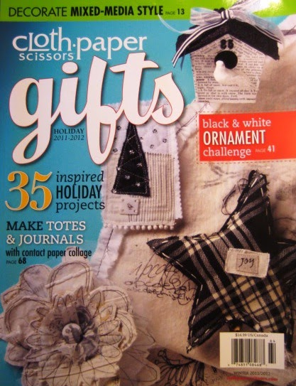 Crimson Heart Studios: Cloth Paper Scissors Gift 2011