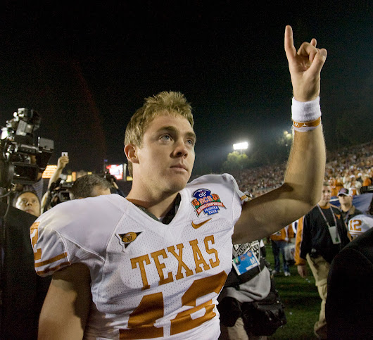 And the Dallas Cowboys Select.....Colt McCoy? - CTC Sports