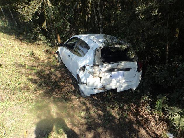 Acidente na BR 280 entre Mafra e Canoinhas