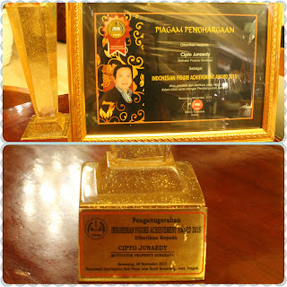 Cipto Junaedy Indonesian Figure Achievement Award 2015
