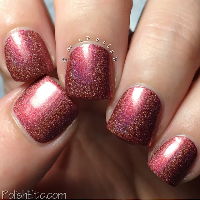 Nine Zero Lacquer - Men of Letters Collection - McPolish - Croatoan