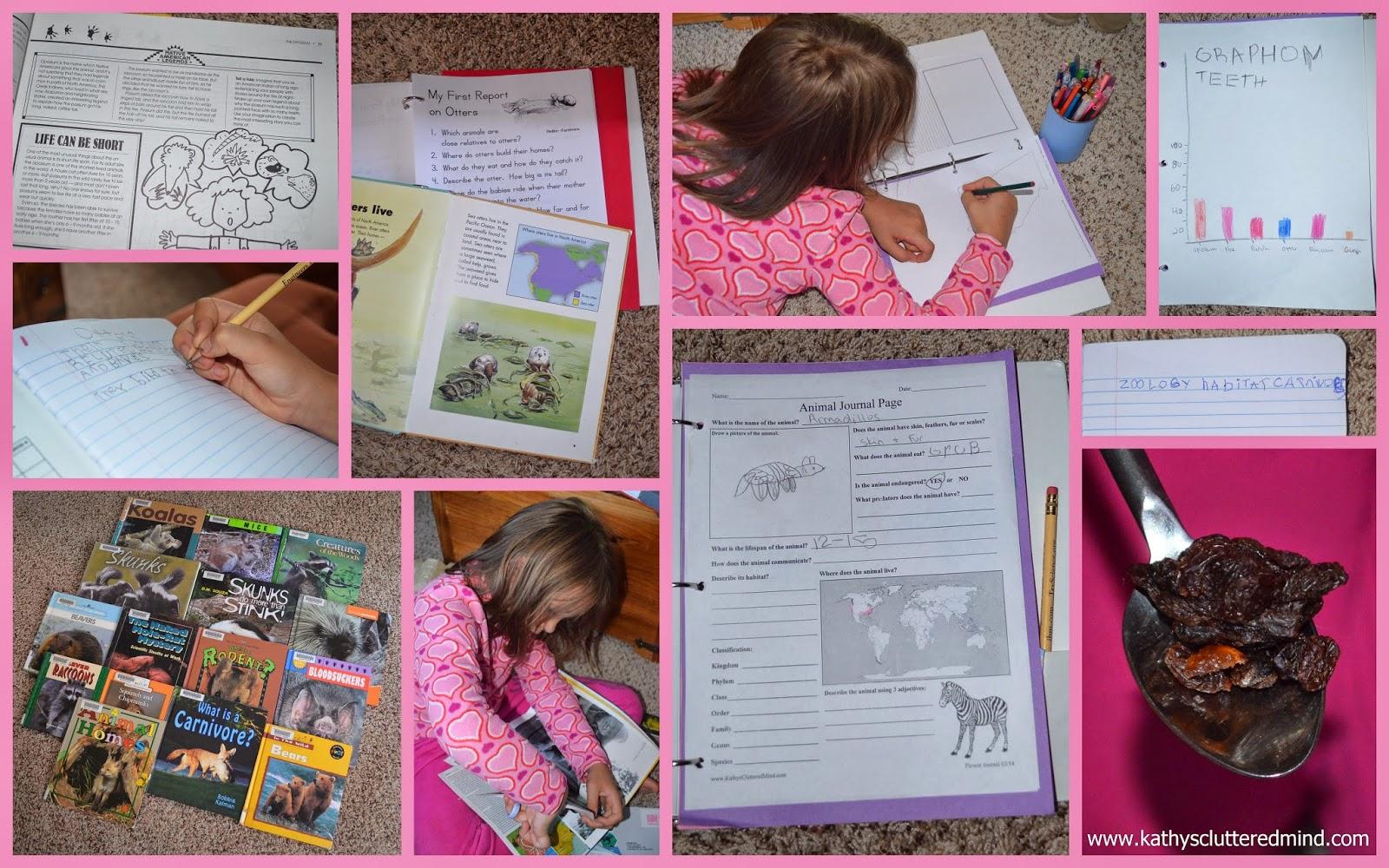 Kathys Cluttered Mind Hewitt Homeschooling