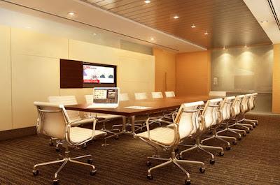 Thiết kế nội thất phòng họp giúp giảm bớt căng thẳng
