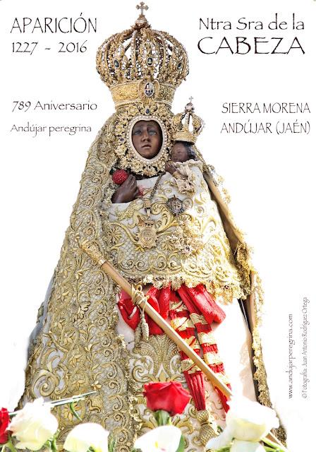 Cartel Aparición Virgen de la Cabeza