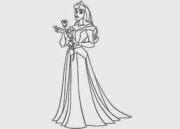 free coloring pages princess aurora - photo#46