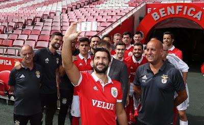 Benfica Hóquei Patins Selfie