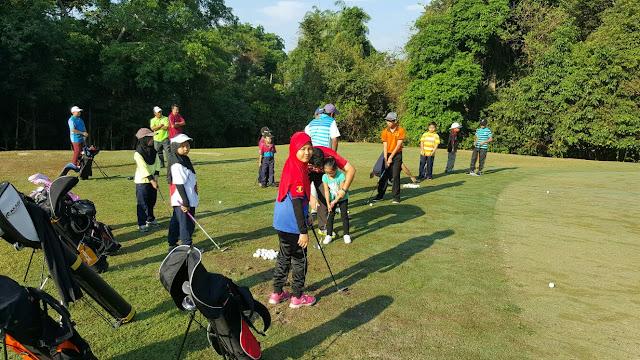 Signifikan Golf dan Asmaulhusna