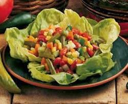 Šaldytų daržovių salotos