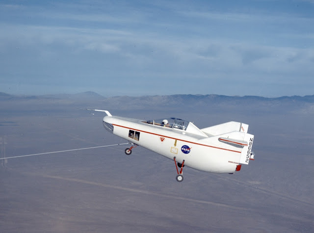Aircraft without wings! (NASA M2-F1)