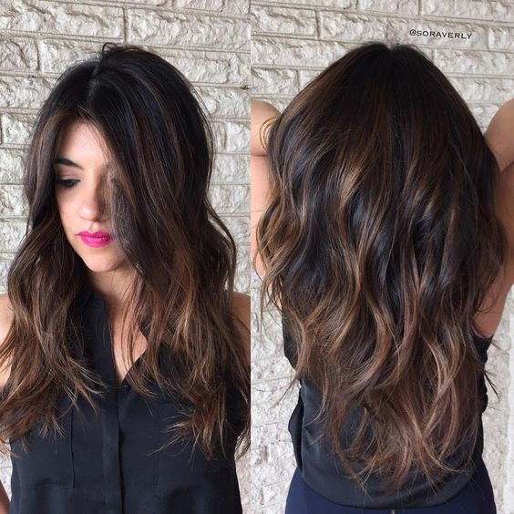 Top 15 Chocolate Brown Hair With Highlights Hairstyles Hair