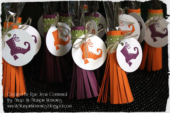 6 Halloween Favors for Kids, Classroom Halloween Party Favors - halloween ideas party