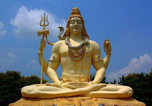 Lord Shiva statue in uttar pradesh