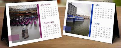 Cetak Kalender Meja