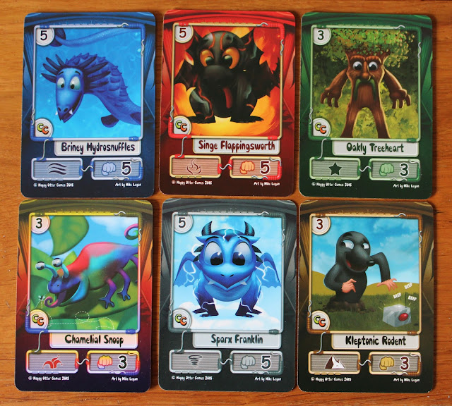 Creature College - creature cards