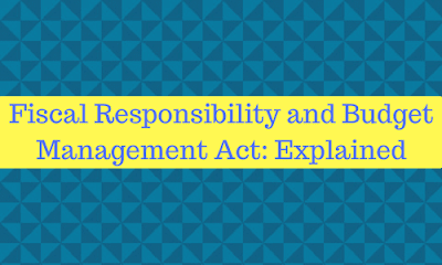 fiscal responsibility and budget management act The business & finance acronym /abbreviation/slang frbm means fiscal responsibility and budget management by  and budget management act frc - fiscal.