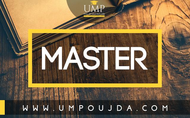 Faculté Des Sciences Agdal - Rabat : Masters et Masters Spécialisés