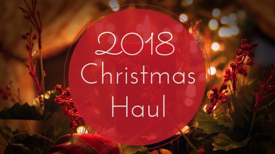Bookish Christmas Haul for 2018