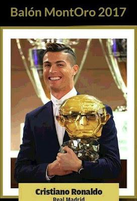 Balón MontORO 2017, Cristiano Ronaldo