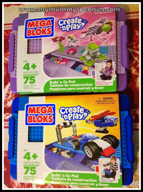 mega bloks create n play build n go pad