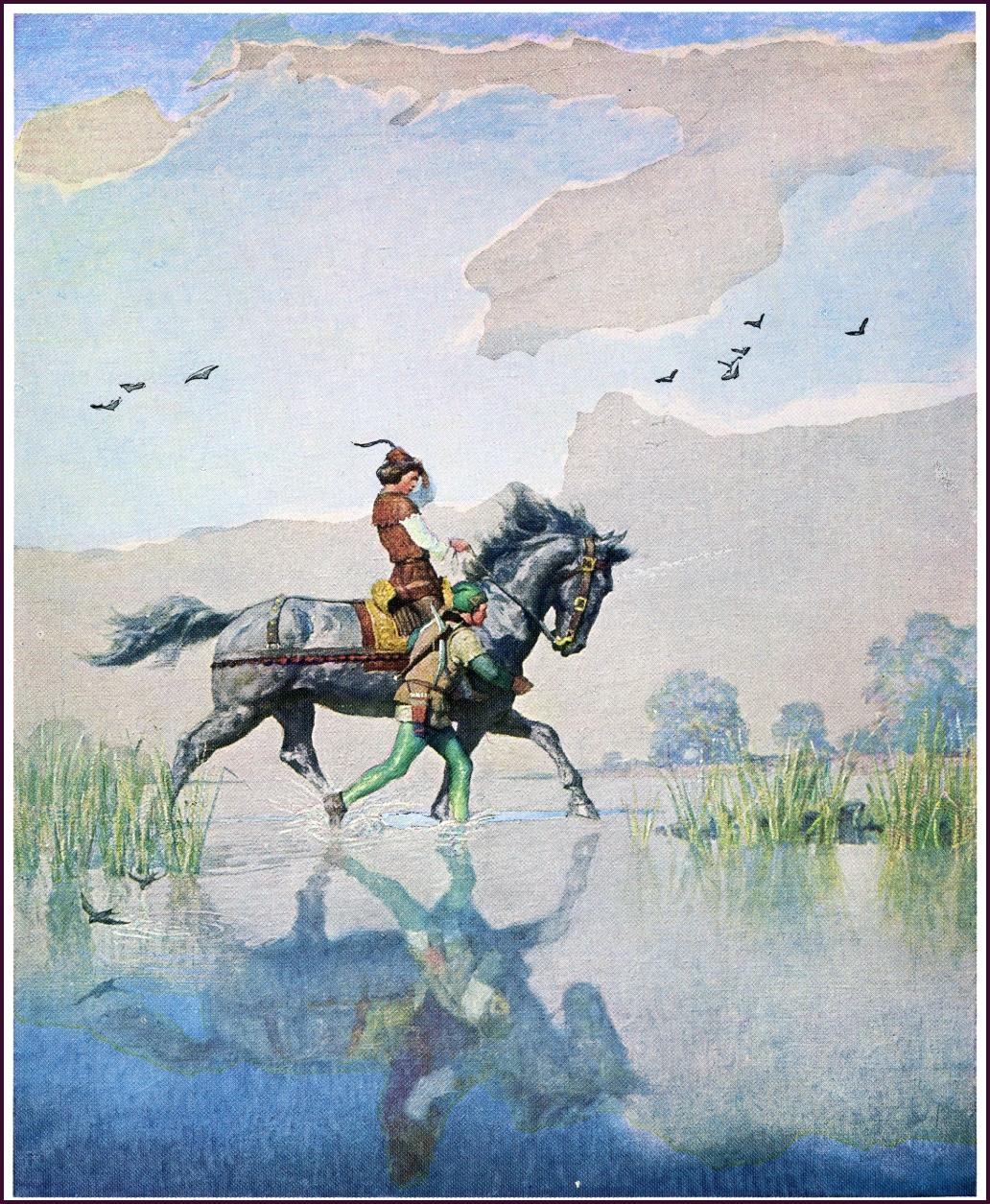 N C Wyeth Illustrations 1933 The Black Arrow Robert Louis