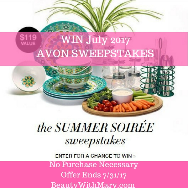 Avon Sweepstakes July 2017 - Win Free Avon Products