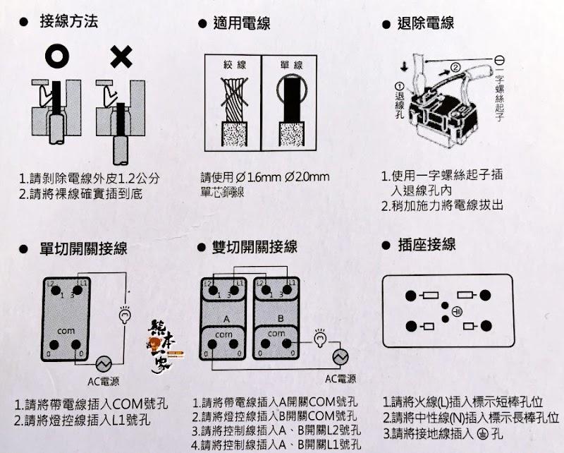 更換插座電燈開關完整步驟DIY|2孔改3孔插座沒接地線接法
