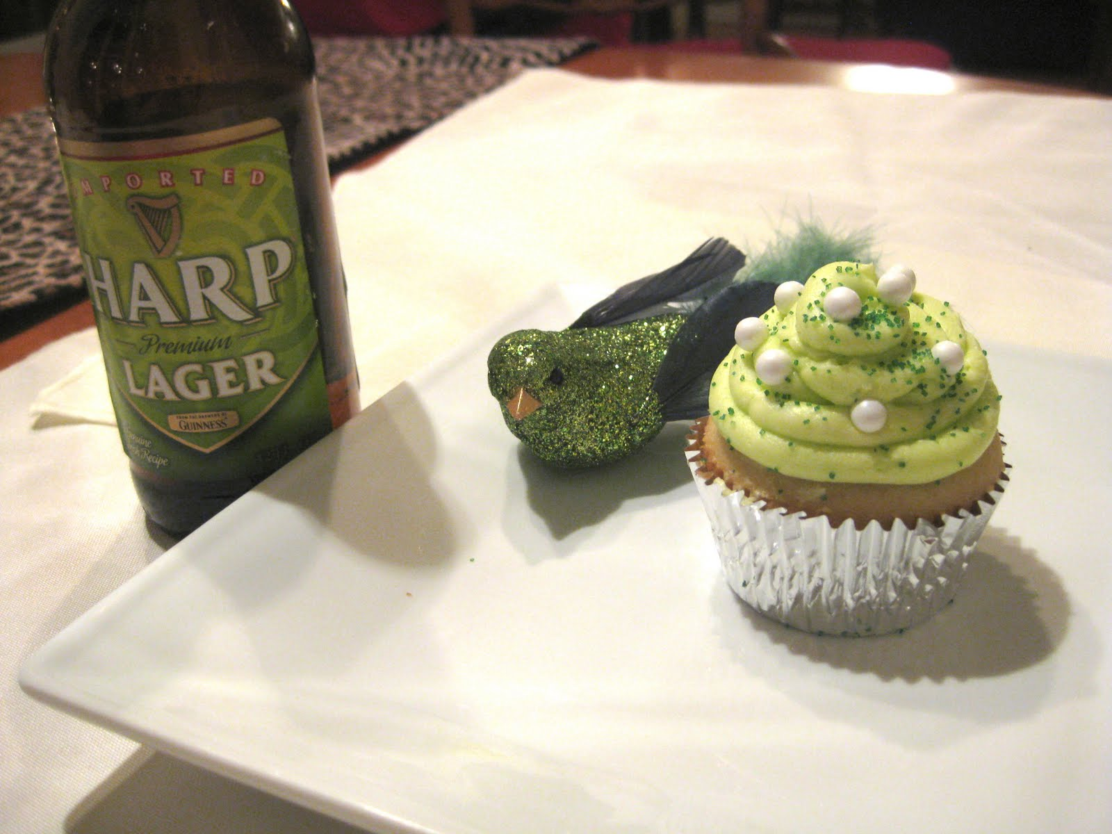 "Pixie Crust: ""Snake Bite"" Cupcake with Harp and Wyder's ..."