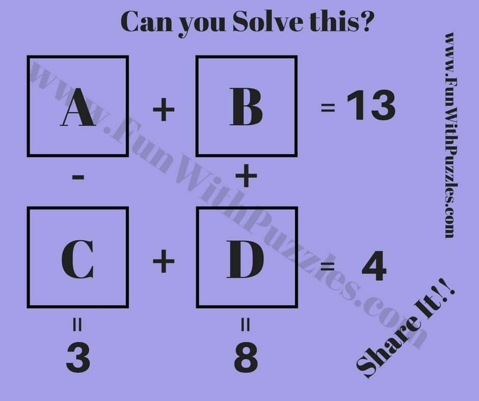 Brain teasers worksheet 4 answers