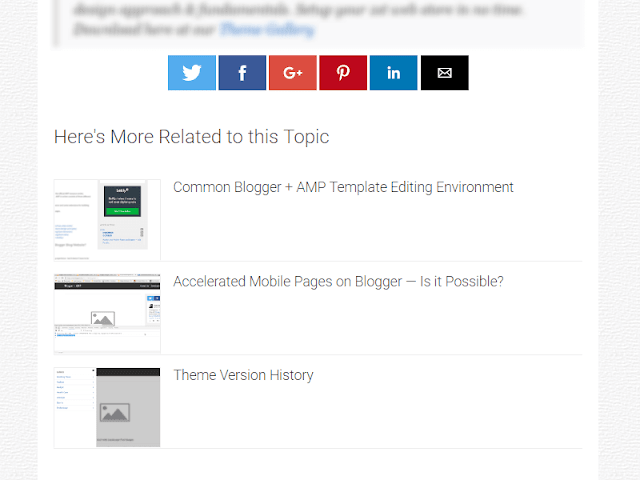 Blogger AMP integration & how to publsih post with valid AMP components