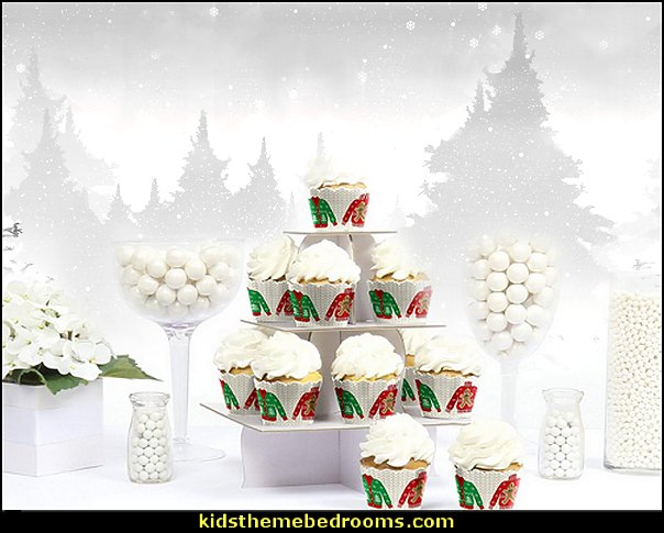 Ugly Sweater - Holiday & Christmas Party Decorations - Party Cupcake Wrappers