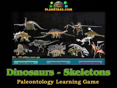 Динозавър - Скелет Пъзел