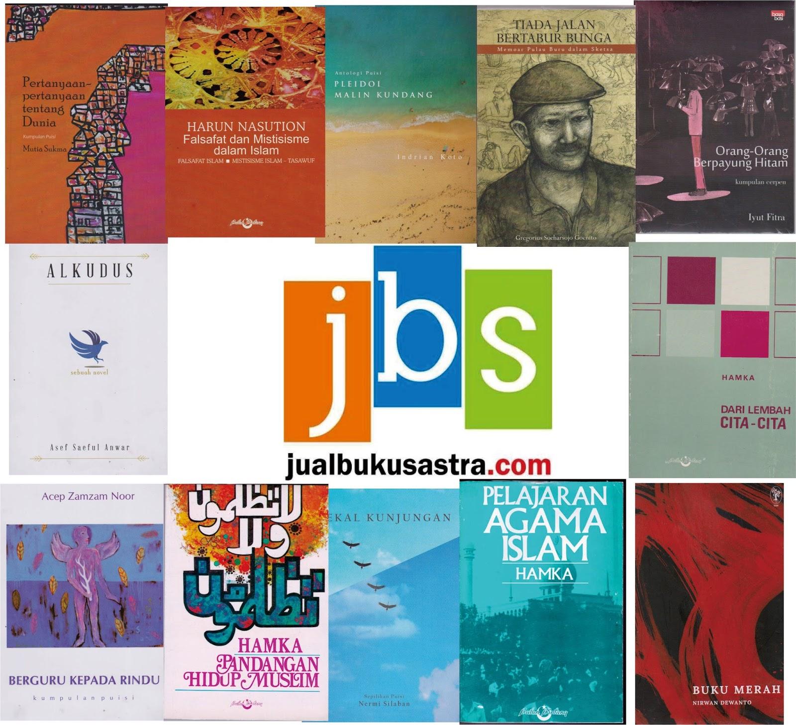 Jualan Buku Sastra: Katalog Sastra-Nonsastra Mei 2017