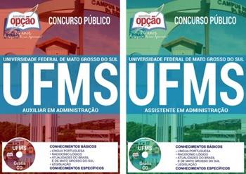 Apostila Concurso da UFMS - Universidade Federal de Mato Grosso do Sul