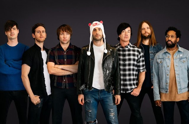 Maroon 5 anuncia 4 datas no Brasil para 2020