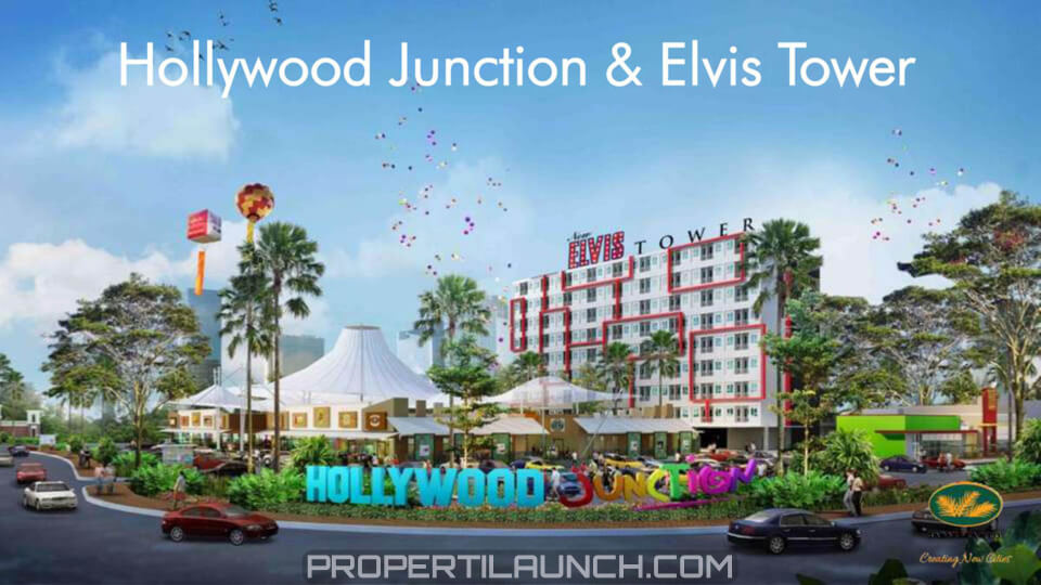 Hollywood Junction & Elvis Tower Jababeka