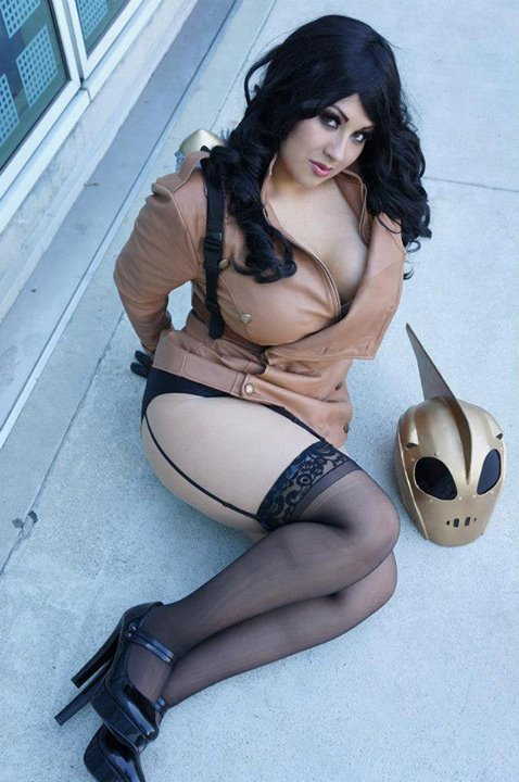 Ivy Doomkitty rocketeer cosplay.