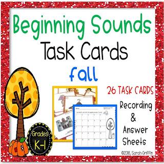 http://daughtersandkindergarten.blogspot.com/p/my-store.html#!/Fall-Theme-Beginning-Sounds-Task-Cards/p/112868411/category=29539907