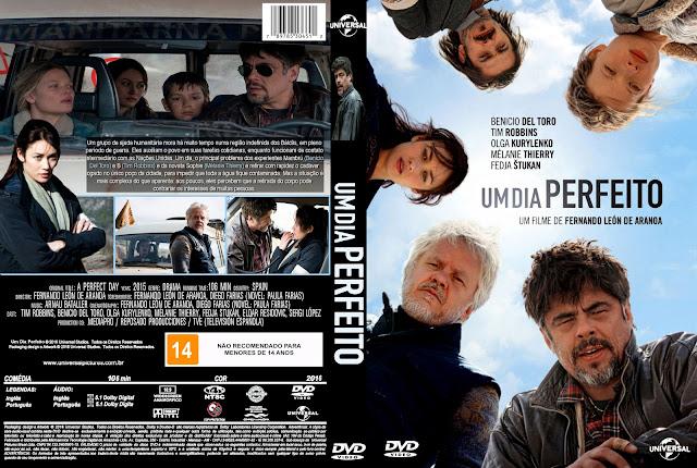 Capa DVD Um Dia Perfeito