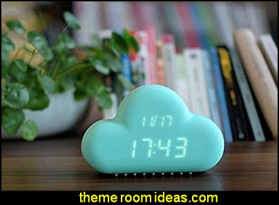 Cloud Shape LED Digital Alarm Clock