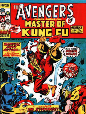Marvel UK Avengers Weekly; Shang-Chi, Master of Kung Fu