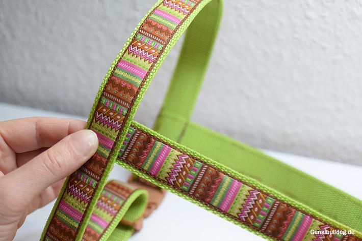 Nähanleitung für Norwegergeschirr Hundegeschirr selbst nähen