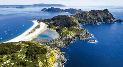 Las Islas Cíes, turismo en Galicia