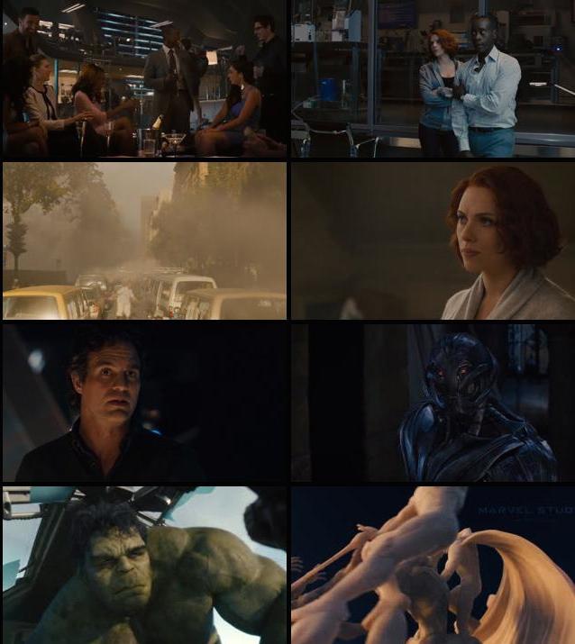 Avengers Age of Ultron 2015 BluRay 720p 1GB