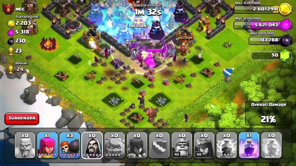 clash of clans pagar level 12