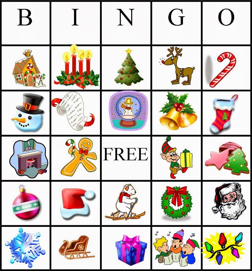 Free Printable Christmas Bingo Cards For Adults: 4 Kids Cakes: Christmas Bingo