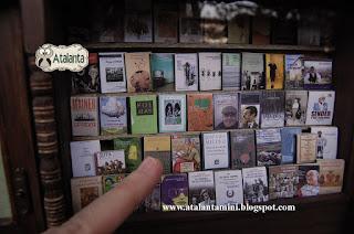 Librería miniatura - Miniature Library - Sala Libros Fuenclara Zaragoza